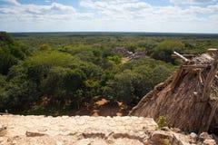 Величественные руины в Ek Balam ¡ N YucatÃ, Мексика стоковое фото