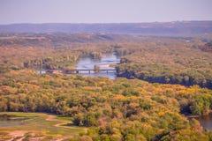 Величественный взгляд от щук пиковой Айовы Стоковое фото RF
