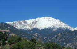 Величественный пик щук в Колорадо стоковое изображение rf