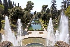 Величественный фонтан Стоковое Фото