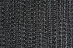 велкро макроса крюка предпосылки черное Стоковое Изображение RF