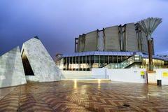 ВЕЛЛИНГТОН, НОВАЯ ЗЕЛАНДИЯ - 4-ОЕ СЕНТЯБРЯ 2018: Музей нового Zeala стоковое изображение rf