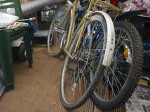 2 велосипеда в комнате Стоковые Изображения RF