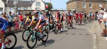 Велосипедисты 2018 Тур-де-Франс стоковые изображения rf