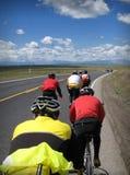 велосипедисты Стоковое фото RF