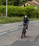 Велосипедист Джек Haig - Критерий du Dauphine 2017 стоковое изображение rf