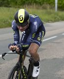 Велосипедист Джек Haig - Критерий du Dauphine 2017 стоковая фотография