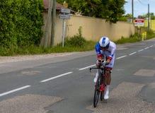 Велосипедист Джереми Maison - Критерий du Dauphine 2017 стоковая фотография