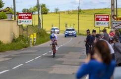 Велосипедист Джереми Maison - Критерий du Dauphine 2017 стоковые фото