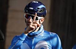 Велосипедист КАРЛОСА BARBERO стоковые фото