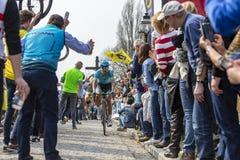 Велосипедист Магнус Cort Нильсен - путешествие Фландрии 2019 стоковая фотография