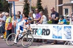 Велосипедист скорости Marianne Vos Стоковые Изображения