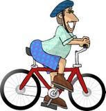 велосипедист иллюстрация штока