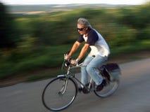 велосипедист Стоковая Фотография