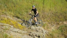 Велосипедист bike видеоматериал