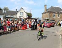 Велосипедист Yoann Offredo 2018 Тур-де-Франс Стоковые Изображения
