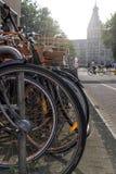 Велосипеды Амстердама Стоковые Изображения