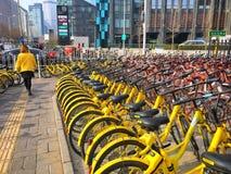 Велосипеды города Стоковые Изображения