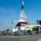 Велосипеды для ренты в Сан-Франциско стоковые изображения