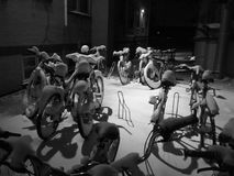 Велосипеды призрака стоковые фото