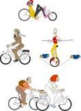 Велосипеды 1 иллюстрация вектора