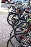 Велосипеды Стоковое Изображение