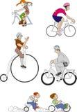 Велосипеды 3 иллюстрация вектора