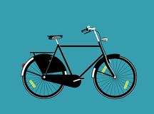 Велосипед Голландии Стоковые Изображения RF