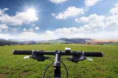 велосипед гора Стоковая Фотография