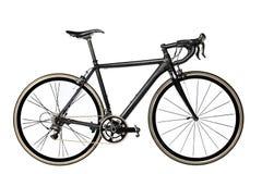 Велосипед дороги на белой предпосылке Стоковые Фотографии RF