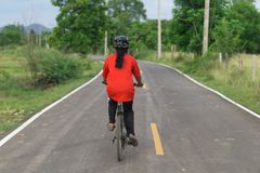 Велосипед езды стоковые изображения