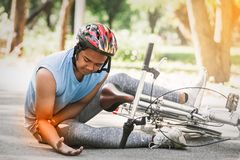 Велосипед катания велосипедиста людей спорта Стоковое Фото