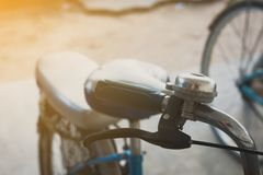 Велосипед колокол, старый стоковые изображения