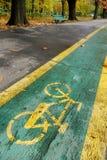 велосипед осени Стоковая Фотография RF
