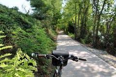 велосипед путь Стоковые Изображения RF