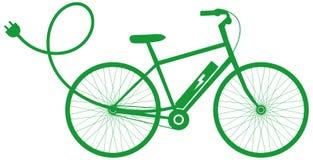 Велосипед E-велосипеда электрический Стоковая Фотография