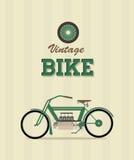 Велосипед год сбора винограда Стоковая Фотография