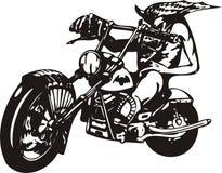 велосипедист шальной Стоковое Изображение RF