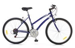 велосипед холодный Стоковые Фото