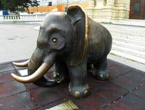 Вена Австрии attractor Слон Стоковые Изображения