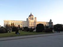 Вена, Австрия, история музея изобразительных искусств стоковое изображение