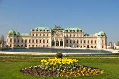 вена верхушкы дворца belvedere Стоковые Изображения RF