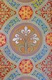 Вена - деталь от фрески на стене в церков Carmelites в Dobling. Стоковые Фотографии RF
