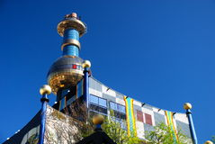 вена завода hundertwasser топления заречья Стоковые Фотографии RF