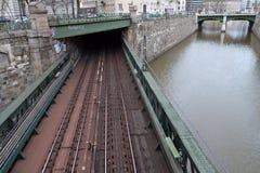 вена моста подземная Стоковое Фото