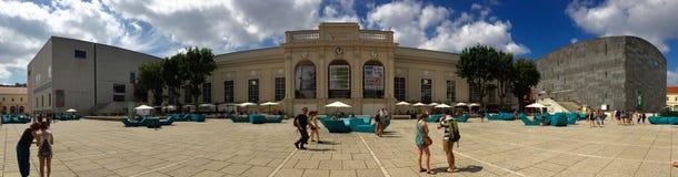Вена музеев квартальная Стоковое Фото