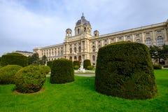 вена музея истории естественная стоковые изображения