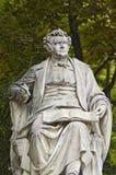 вена статуи schubert Стоковые Фото