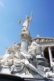 Вена - статуя Стоковая Фотография