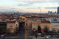 Вена - столица Австрии Согласно результатам торговец текстилём агенства исследования, вена приняла первое место в мире для качест стоковое фото